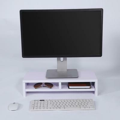 Desktop Monitor Stand TV Laptop Rack Computer Screen Riser Desk