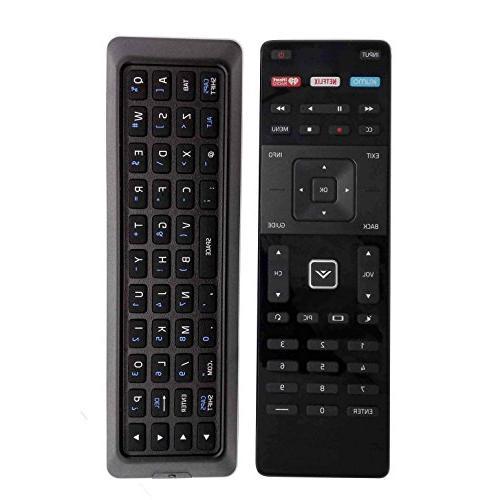 dual side keyboard tv remote