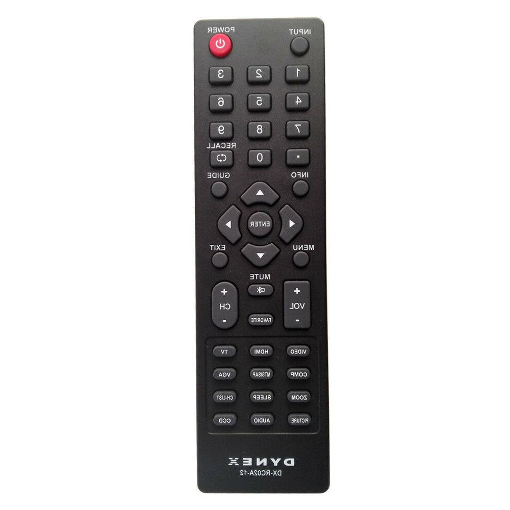 ZdalaMit DX-RC02A-12 Replace TV Remote Control For Dynex DX-