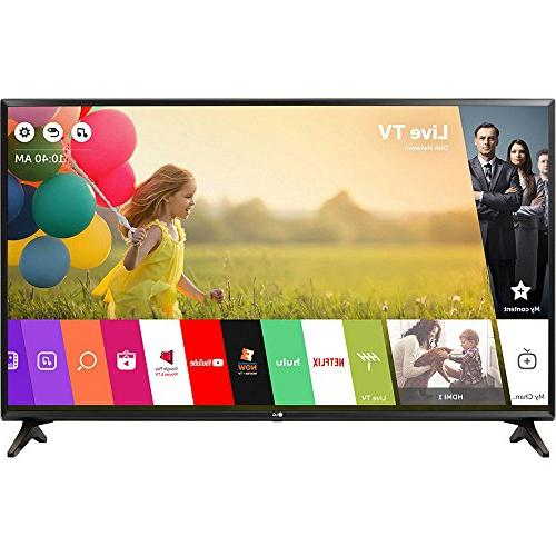 electronics 49lj550m class smart tv