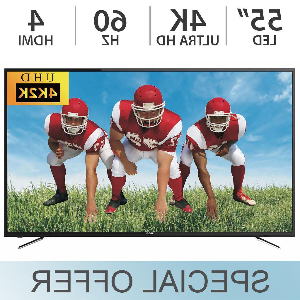 RCA ULTRA LCD 60Hz TV 4 HDMI RTU5540 - NEW