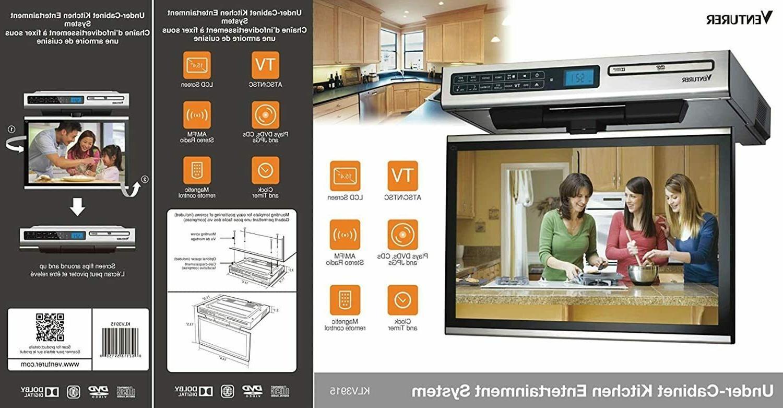 Venturer Kitchen LCD TV with DVD Player
