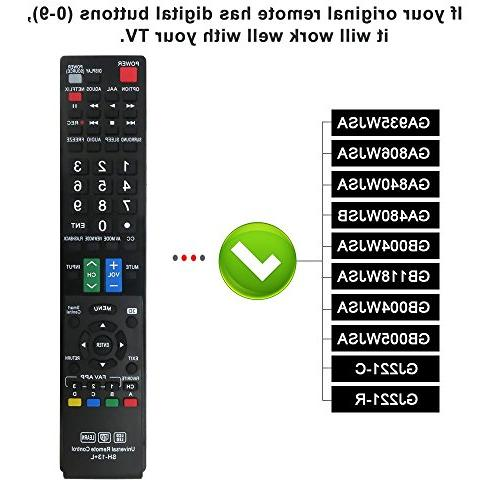 LuckyStar SH-13+L Universal Remote Control for Almost All
