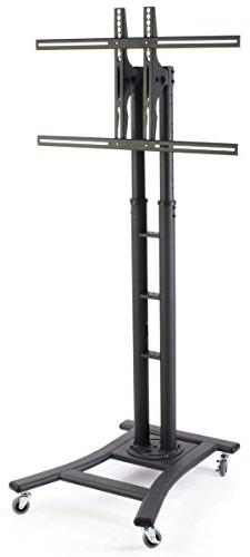Mobile LCD Display Stand for a 32 to 65 inch Flat Panel Moni