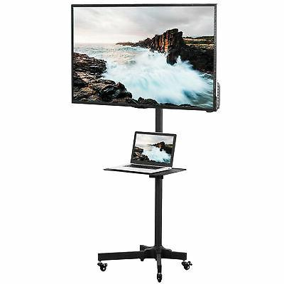 VIVO Mobile TV Cart for LCD LED Plasma Flat Screen Panel Tro