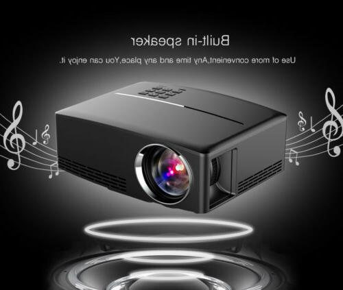 GP80UP WiFi Android 3D Projector Cinema 7000LM