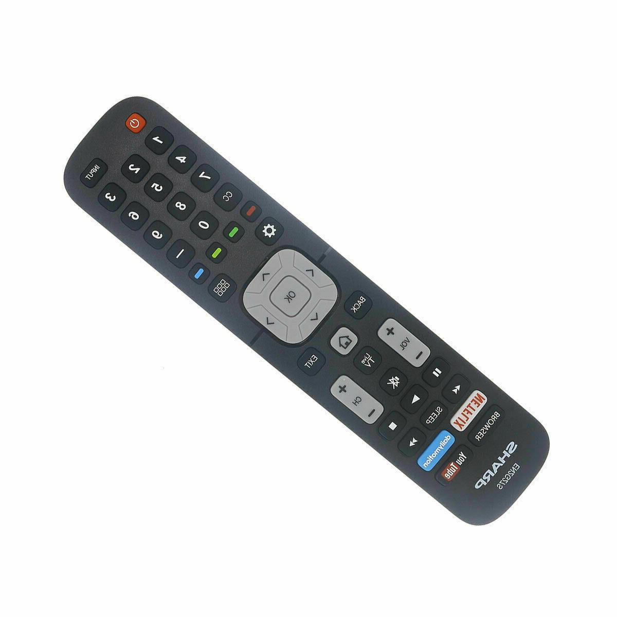 New EN2G27S LCD HD TV Remote Control Sharp TVs