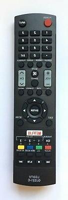 NEW USBRMT Replacement Sharp TV Remote GJ221-C For Sharp LED