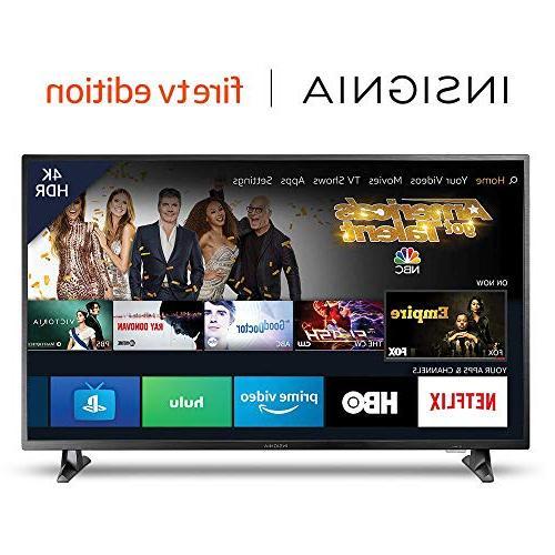 Insignia NS-50DF710NA19 50-inch 4K Ultra HD Smart LED TV HDR