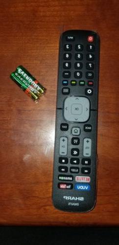 Original Sharp EN2A27S TV Remote Control For Sharp Smart LCD