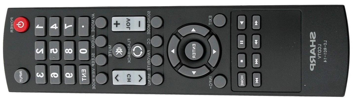 Original New TV Remote Sharp LED