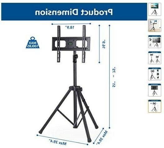 Portable TV Tripod Stand LED Screen