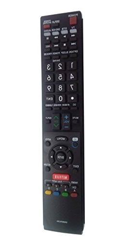 New VINABTY Replaced Remote Controller fit for SHARP TVs LC5