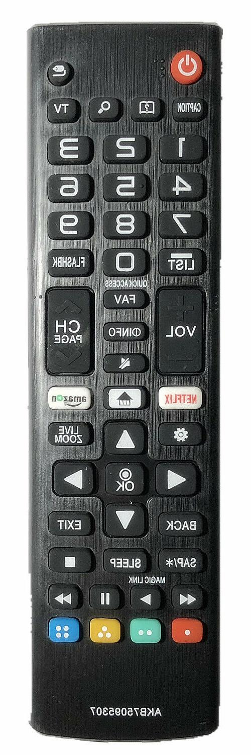 New LG Replacement Remote AKB75095307 for LG Smart LED LCD T