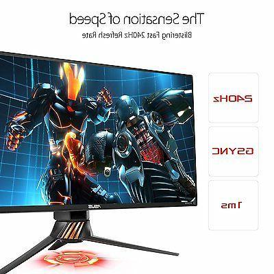 """24.5"""" 240 LCD Gaming Monitor"""