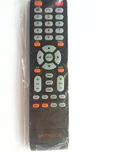 sceptre tv remote