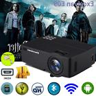 4K LED Smart Home Theater Projector Android 6.0 WiFi Bluetoo