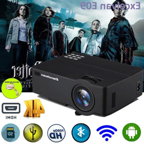 4K HD 1080P Theater LED Wifi HDMI