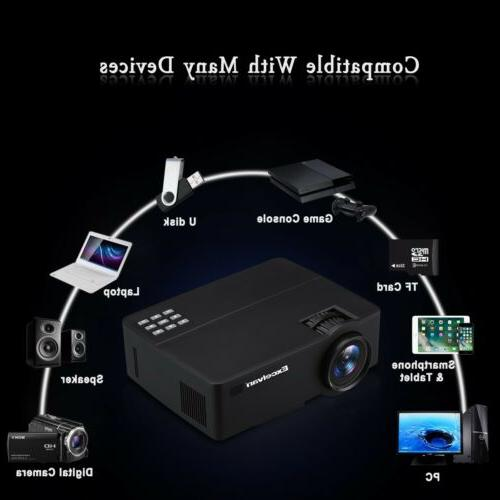 4K 1080P Theater LED Android Wifi Projector HDMI