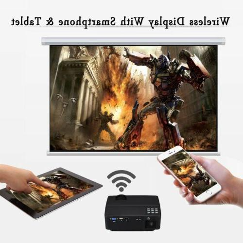 4K 1080P Home Theater LED Android Wifi Projector HDMI