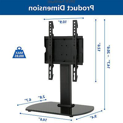 Swivel TableTop Base with Mount 20-40 Flat Screen