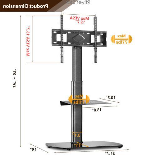 Swivel Corner TV Floor Stand for 27 32 37 42 47 50 55 inch L