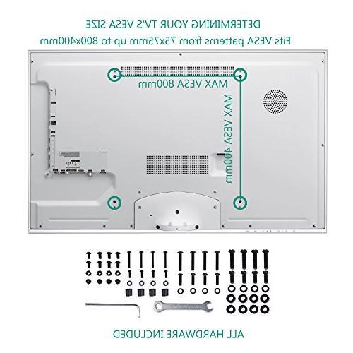 WALI TV Stand Top for Most LCD Flat Screen VESA x