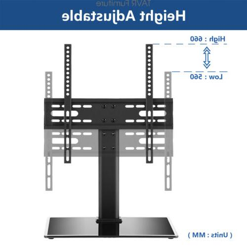 TableTop TV Stand Base with 27-55 inch LCD OLED TVs