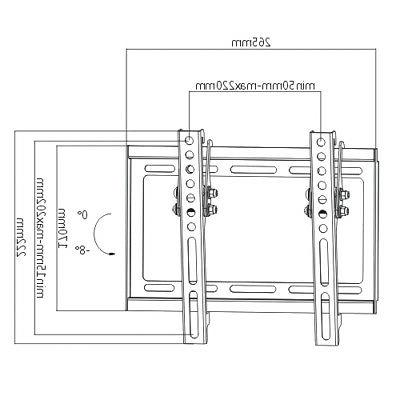 LED LCD Monitor Bracket for 22 24 32 39 42""