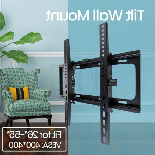 "Tilt TV Stand for 26-55"" Inch LED Flat TVs"