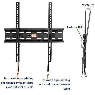 Tilting TV Mount Bracket Low Profile for Most 23-55 LCD,