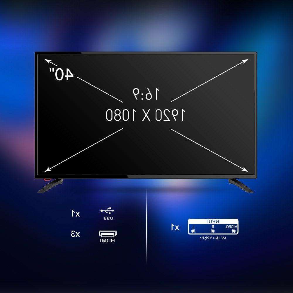 "SANSUI TV 40"" HD 60hz w/ &"