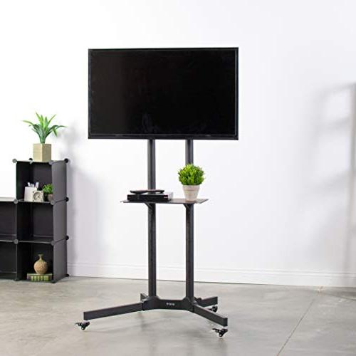 """VIVO Cart for LCD Plasma Flat Panel w/Wheels Mobile fits 32"""" to 65"""""""