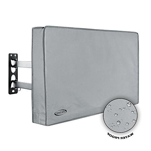 """InCover 46"""",48"""",50"""" Outdoor TV Cover - Works with Flat TV, L"""