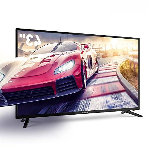 tv electronics televisions 43