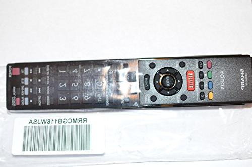 tv remote control gb118wjsa supplied