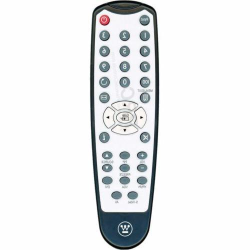 tv remote control supplied