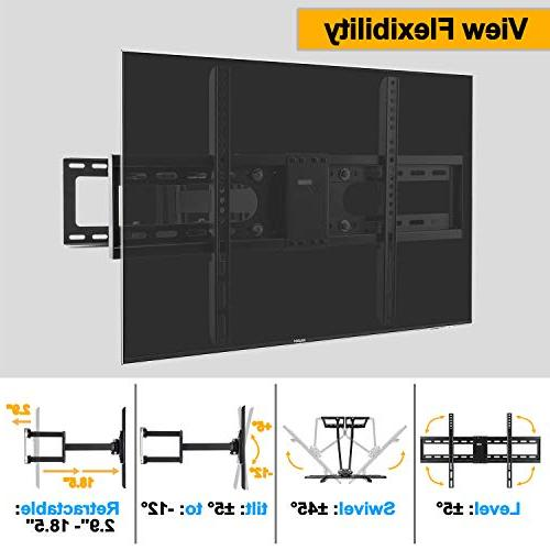 Vemount Corner Mount for Samsung LG LCD Plasma Flat Panel TV Arms 600x400mm