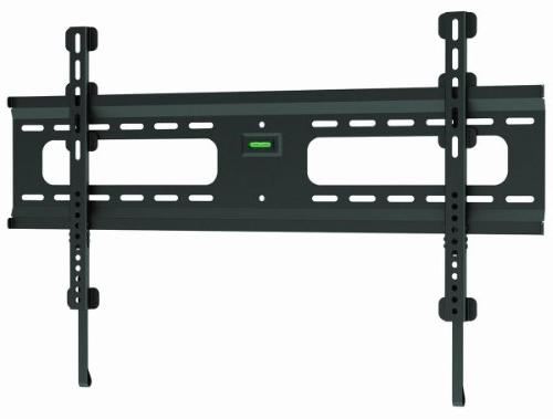 Ultra-Slim Black Flat/Fixed Wall Mount Bracket for Sansui SL