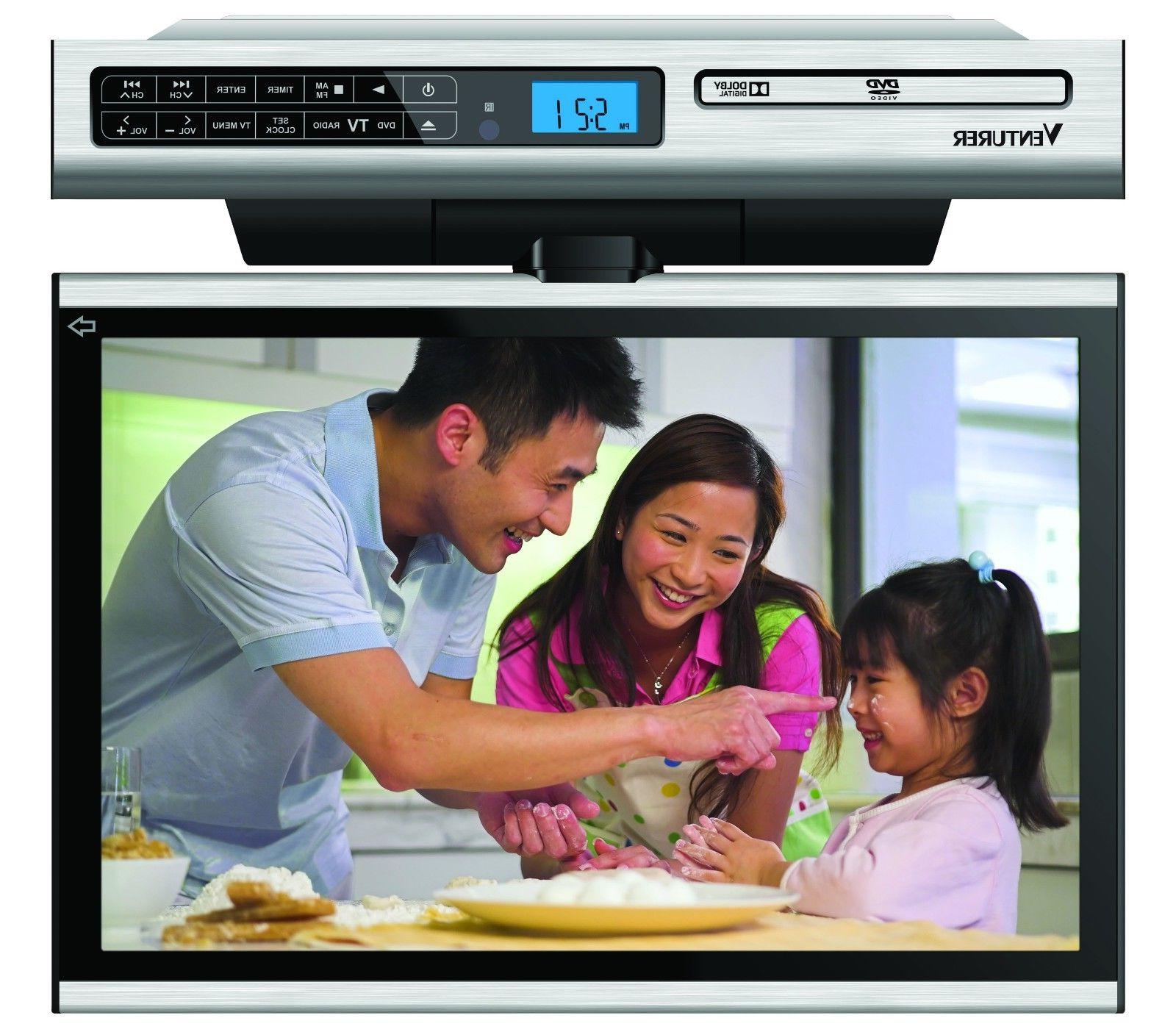 undercabinet kitchen lcd tv dvd combo no
