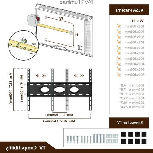 Universal Floor with Mount 32-65 inch Screen TVs