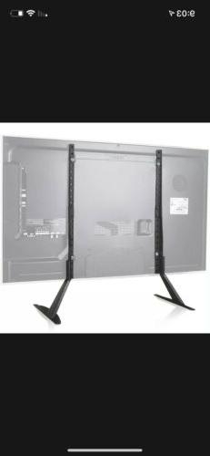 WALI Universal LCD Flat Screen TV Table Top Stand / Base fit