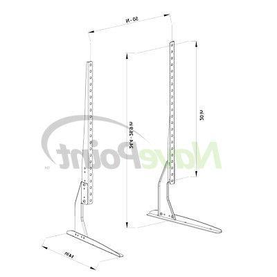 "Universal LCD Table VESA Mount 46 50 65"""