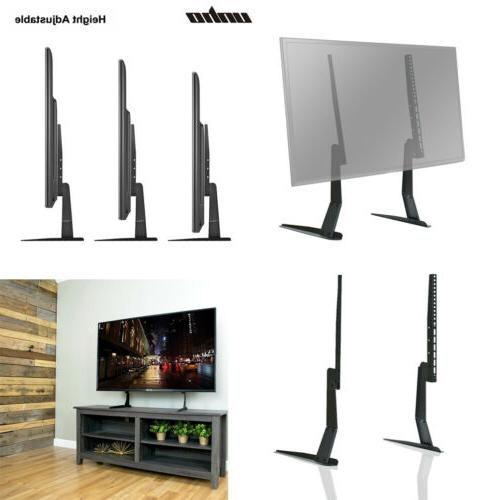 TableTop TV Stand Base LED LCD HD Flat Screen Holder Fit 22""