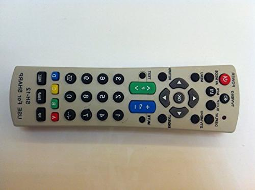 universal sharp remote control fit