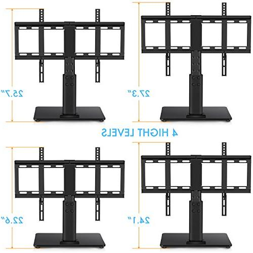 Top TV 32 to TVs 40 Swivel, Adjustment,Tempered to 60lbs Screens