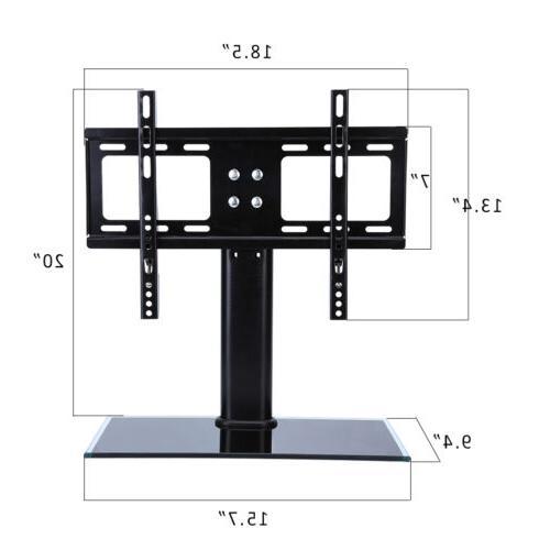 Universal Tabletop Pedestal Base Wall Mount for Tvs