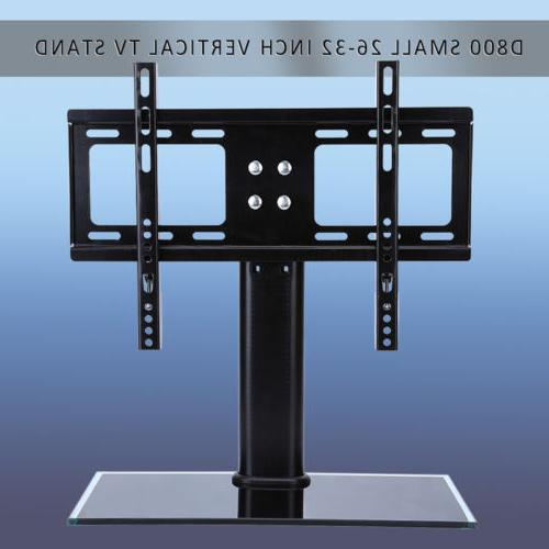 universal tabletop tv stand pedestal base wall