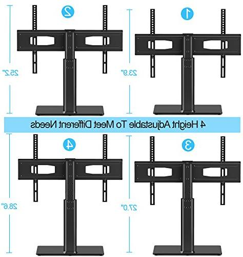 FITUEYES TV Tabletop Mount 60 Tvs Vizio/Sumsung/Sony Tvs/Xbox One/tv Components VESA TT105202GB-G