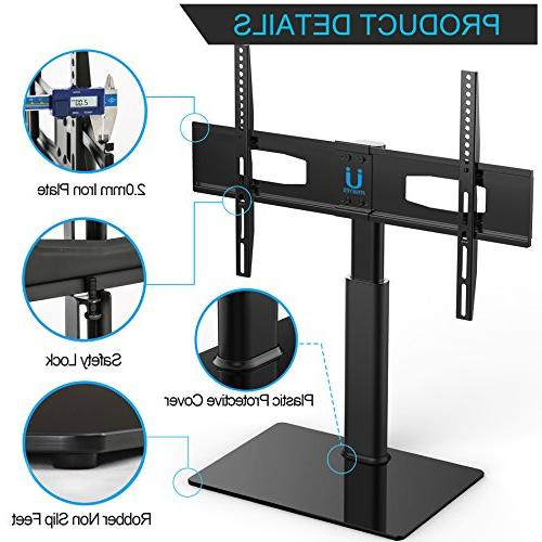FITUEYES Tabletop TV Stand Mount up to 60 Flat Tvs TT105202GB-G
